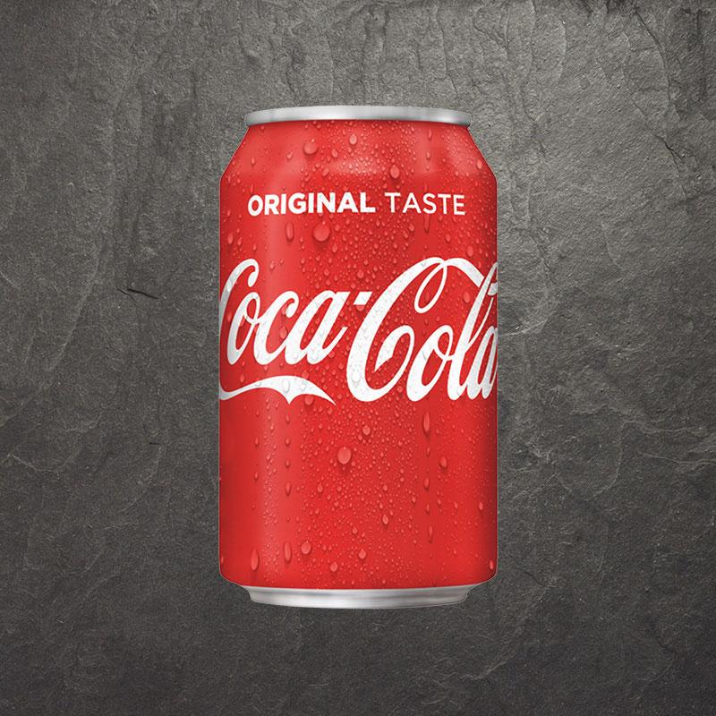 Blikje Coca Cola