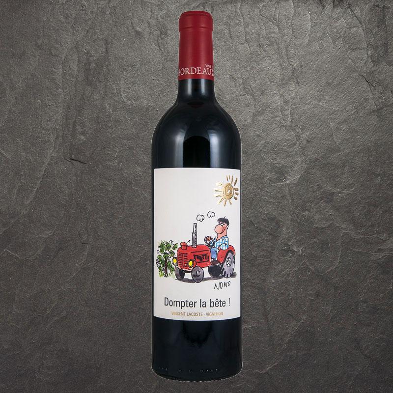 Rode wijn van het huis